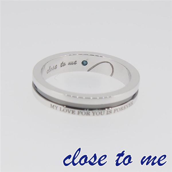 SR14-014BK close to me(クロス・トゥ・ミー) シルバーリング メンズ 17号f00