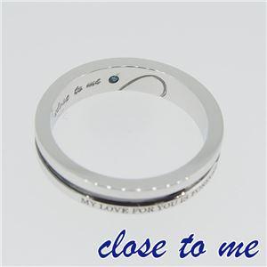 SR14-014BK close to me(クロス・トゥ・ミー) シルバーリング メンズ 17号 h02