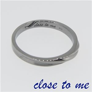 SR14-016M close to me(クロス・トゥ・ミー) シルバーリング メンズ 17号 h02