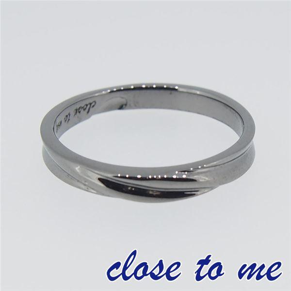 SR14-016M close to me(クロス・トゥ・ミー) シルバーリング メンズ 19号f00