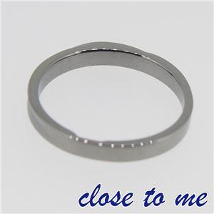 SR14-016M close to me(クロス・トゥ・ミー) シルバーリング メンズ 19号 h03