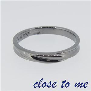 SR14-016M close to me(クロス・トゥ・ミー) シルバーリング メンズ 21号 h01