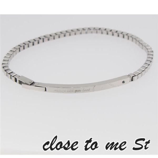 SBR11-001 close to me St(クロス・トゥ・ミー) ステンレスブレスレット メンズf00