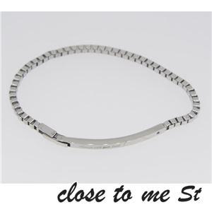SBR11-001 close to me St(クロス・トゥ・ミー) ステンレスブレスレット メンズ h02