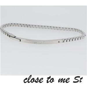 SBR11-001 close to me St(クロス・トゥ・ミー) ステンレスブレスレット メンズ h03