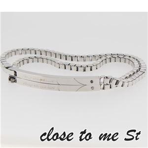 SBR11-001002 close to me St(クロス・トゥ・ミー) ステンレスブレスレット ペア h01