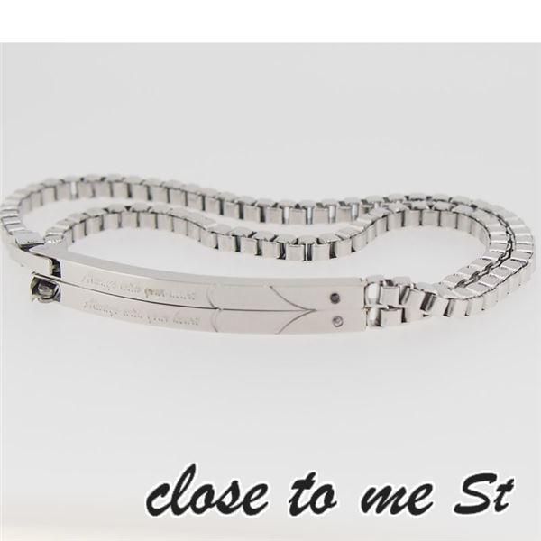SBR11-001002 close to me St(クロス・トゥ・ミー) ステンレスブレスレット ペアf00