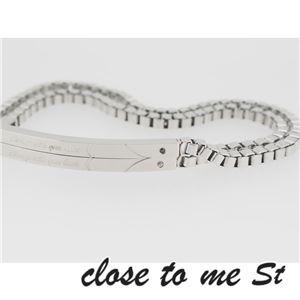 SBR11-001002 close to me St(クロス・トゥ・ミー) ステンレスブレスレット ペア h02