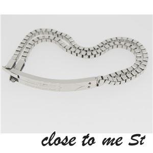 SBR11-001002 close to me St(クロス・トゥ・ミー) ステンレスブレスレット ペア h03