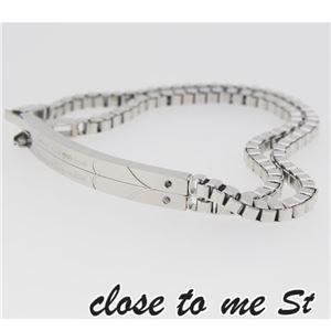 SBR11-001002 close to me St(クロス・トゥ・ミー) ステンレスブレスレット ペア f06