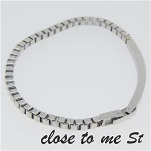 SBR11-002 close to me St(クロス・トゥ・ミー) ステンレスブレスレット レディース h02