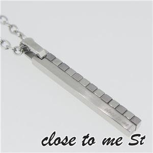 SN11-011 close to me St(クロス・トゥ・ミー) ステンレスネックレス メンズ h01