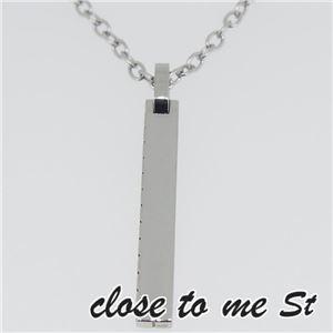 SN11-011 close to me St(クロス・トゥ・ミー) ステンレスネックレス メンズ f04