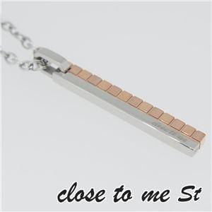 SN11-012 close to me St(クロス・トゥ・ミー) ステンレスネックレス レディース h01