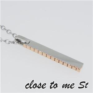 SN11-012 close to me St(クロス・トゥ・ミー) ステンレスネックレス レディース h02