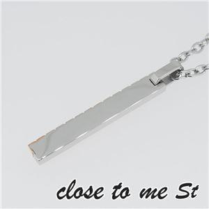 SN11-012 close to me St(クロス・トゥ・ミー) ステンレスネックレス レディース f06