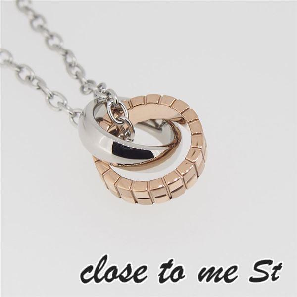 SN11-014 close to me St(クロス・トゥ・ミー) ステンレスネックレス レディースf00