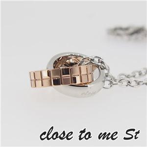 SN11-014 close to me St(クロス・トゥ・ミー) ステンレスネックレス レディース f06