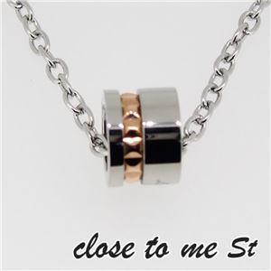 SN11-018 close to me St(クロス・トゥ・ミー) ステンレスネックレス レディース h02