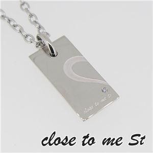 SN11-021 close to me St(クロス・トゥ・ミー) ステンレスネックレス メンズ h01