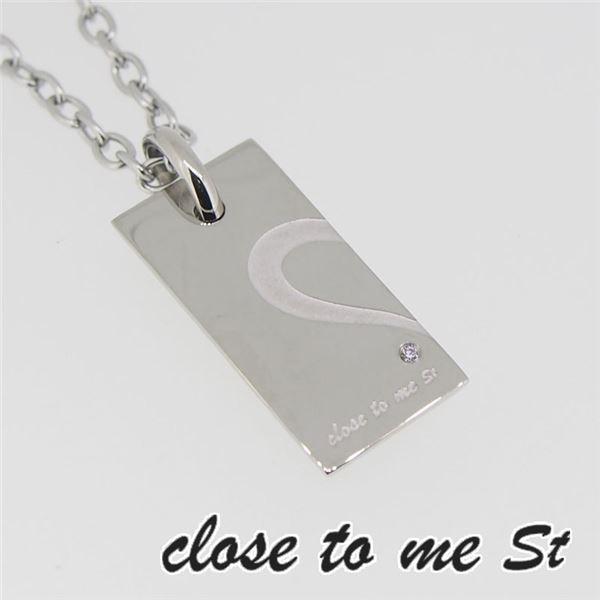 SN11-021 close to me St(クロス・トゥ・ミー) ステンレスネックレス メンズf00