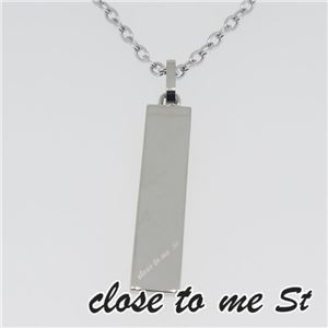 SN11-028 close to me St(クロス・トゥ・ミー) ステンレスネックレス レディース f04