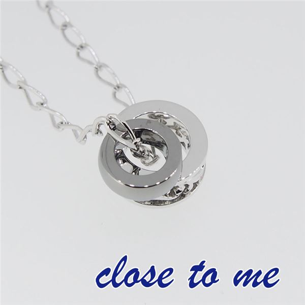SN13-017 close to me(クロス・トゥ・ミー) リングネックレス メンズf00