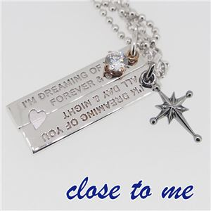 SN13-045046 close to me(クロス・トゥ・ミー) ペアネックレス ペア h03
