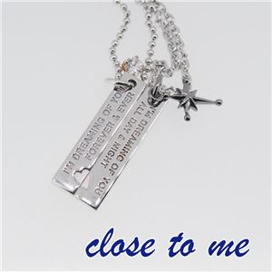 SN13-045046 close to me(クロス・トゥ・ミー) ペアネックレス ペア f05