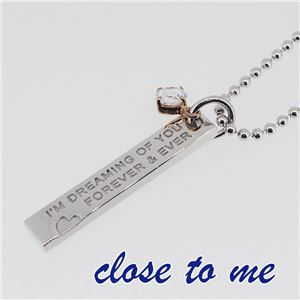 SN13-046 close to me(クロス・トゥ・ミー) ペアネックレス ペア f04