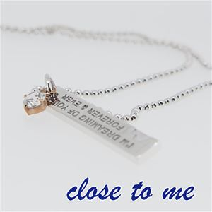 SN13-046 close to me(クロス・トゥ・ミー) ペアネックレス ペア f05