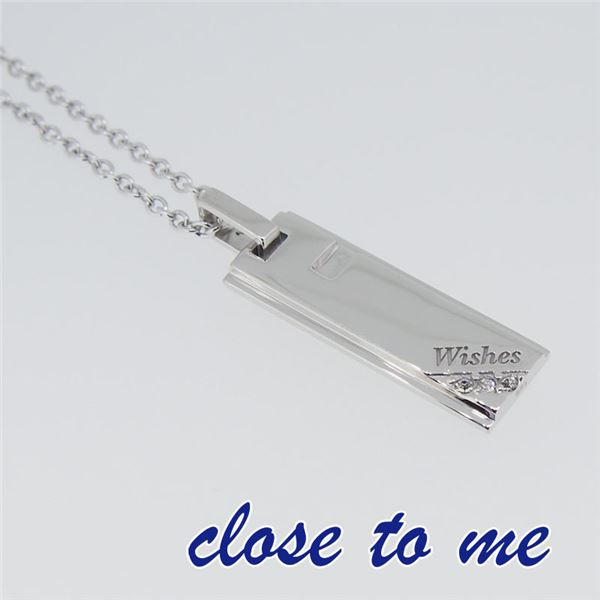 SN13-118S close to me(クロス・トゥ・ミー) シルバーネックレス ペアf00