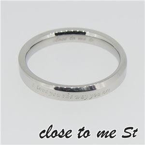 SR11-003WH close to me St(クロス・トゥ・ミー) ディレクトリーリング メンズ 11号 h01