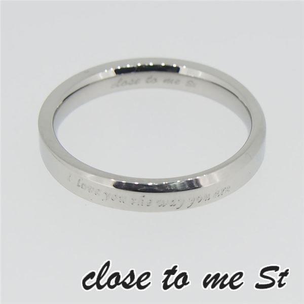 SR11-003WH close to me St(クロス・トゥ・ミー) ディレクトリーリング メンズ 13号f00