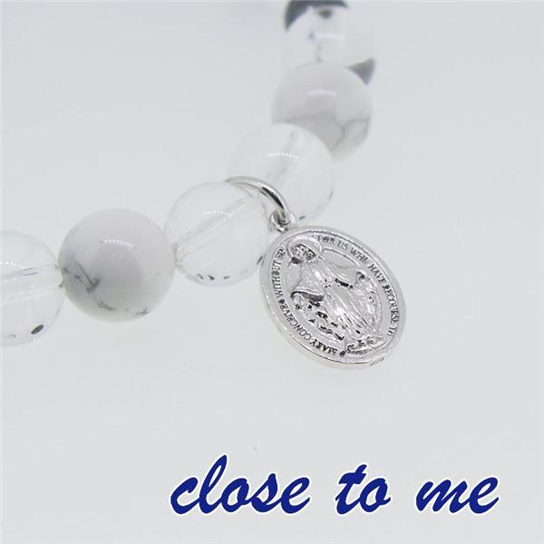 sbr13-025 close to me(クロス・トゥ・ミー) 天然石数珠ブレスレット メンズf00