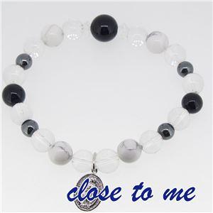 sbr13-025 close to me(クロス・トゥ・ミー) 天然石数珠ブレスレット メンズ f04