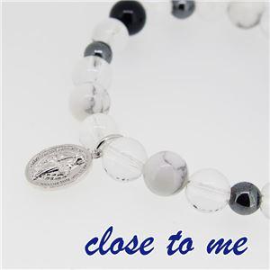 sbr13-025 close to me(クロス・トゥ・ミー) 天然石数珠ブレスレット メンズ f05