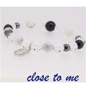 sbr13-025 close to me(クロス・トゥ・ミー) 天然石数珠ブレスレット メンズ f06