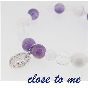 sbr13-026 close to me(クロス・トゥ・ミー) 天然石数珠ブレスレット レディース f05