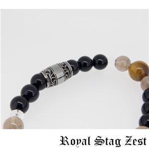 sbr25-004 Royal Stag ZEST(ロイヤル・スタッグ・ゼスト) 天然石数珠ブレスレット・パワーストーンブレスレット メンズ h03