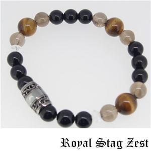 sbr25-004 Royal Stag ZEST(ロイヤル・スタッグ・ゼスト) 天然石数珠ブレスレット・パワーストーンブレスレット メンズ f04