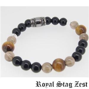 sbr25-004 Royal Stag ZEST(ロイヤル・スタッグ・ゼスト) 天然石数珠ブレスレット・パワーストーンブレスレット メンズ f05