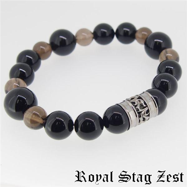 sbr25-006 Royal Stag ZEST(ロイヤル・スタッグ・ゼスト) 天然石数珠ブレスレット・パワーストーンブレスレット メンズf00