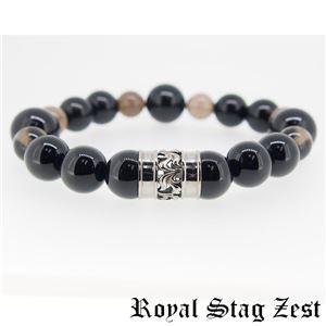 sbr25-006 Royal Stag ZEST(ロイヤル・スタッグ・ゼスト) 天然石数珠ブレスレット・パワーストーンブレスレット メンズ h02