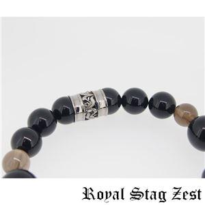 sbr25-006 Royal Stag ZEST(ロイヤル・スタッグ・ゼスト) 天然石数珠ブレスレット・パワーストーンブレスレット メンズ h03