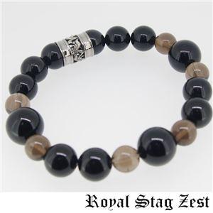 sbr25-006 Royal Stag ZEST(ロイヤル・スタッグ・ゼスト) 天然石数珠ブレスレット・パワーストーンブレスレット メンズ f04