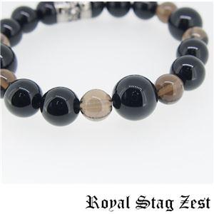 sbr25-006 Royal Stag ZEST(ロイヤル・スタッグ・ゼスト) 天然石数珠ブレスレット・パワーストーンブレスレット メンズ f05