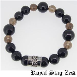 sbr25-006 Royal Stag ZEST(ロイヤル・スタッグ・ゼスト) 天然石数珠ブレスレット・パワーストーンブレスレット メンズ f06