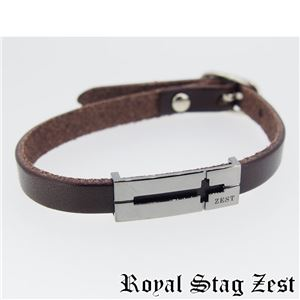 sbr25-009 Royal Stag ZEST(ロイヤル・スタッグ・ゼスト) 天然石数珠ブレスレット・レザーブレスレット メンズ h01