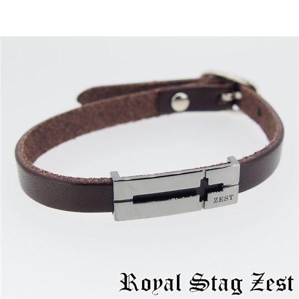 sbr25-009 Royal Stag ZEST(ロイヤル・スタッグ・ゼスト) 天然石数珠ブレスレット・レザーブレスレット メンズf00